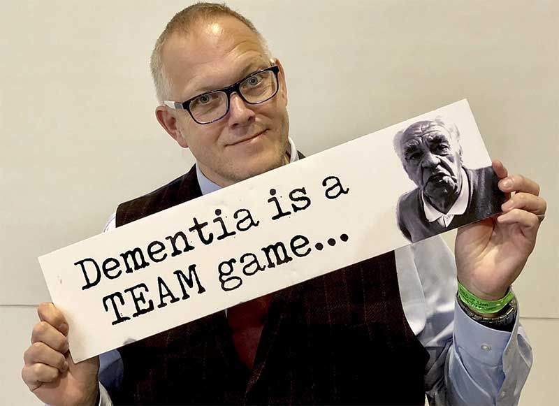 Ian Donaghy. Dementia is a team Game.